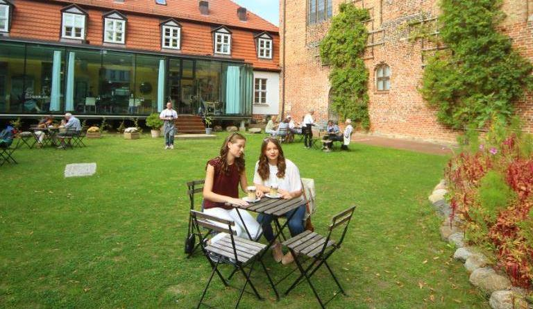 Kloster, Museum, Cafe